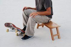 Skate-Home bench...