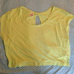 Selling this Lime Green Crop Top with Cut-Out Back in my Poshmark closet! My username is: eliiizaabeth. #shopmycloset #poshmark #fashion #shopping #style #forsale #PINK Victoria's Secret #Tops