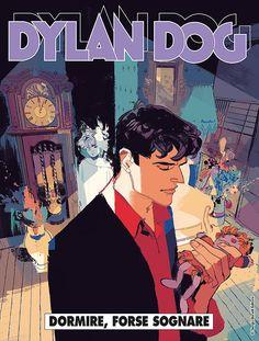"""Dylan Dog: Dormire, forse sognare"" Comics Illustration, Illustrations, Dylan Dog, Dog Poster, Old Boys, Story Time, Dark Fantasy, Zine, Detective"