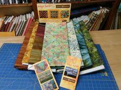 Batiks de fil d'or para magic batiks