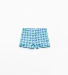 Image 1 of Tie-print swimming shorts from Zara