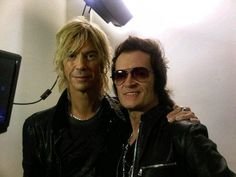 Good mates... Duff and Me