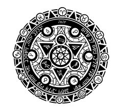 Magic Circle, Archangel names, planetary , priest Blessing, and zodiac ,maori style,