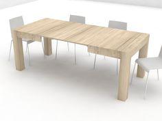 Eurosedia tavolo axel allungabile in laminato vintage tavoli
