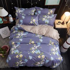 89.8% People is looking for the Bedding Sets,1 Duvet Cover Set +1 Bed Sheets +2 Pillow Shams, Washed Cotton Twin Full Queen Size 1
