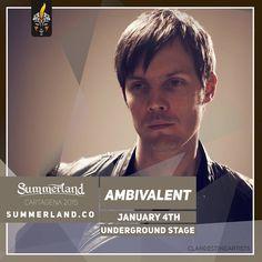 Ambivalent  Dj Confirmado  Summerland 2015