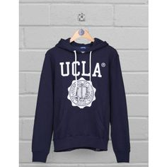 UCLA Clothing | UCLA hoodie Colin in blue with crest logo