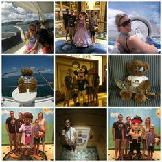 Last week the Hall family, the winners of our Unfrozen Winner Contest, enjoyed their Disney Cruise. Here is the first round of pics! Disney Cruise, Disney Mickey, Summertime, Disney Characters, Instagram Posts