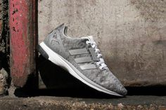 """best sneakers c550e 05906 adidas Originals ZX FLUX ZERO """"Metallic Silver""""  After first unveiling the ZX  Flux and ZX Zero last season, adidas Originals is back with a hybrid"""