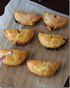 Blueberry and Peach Hand Pies |