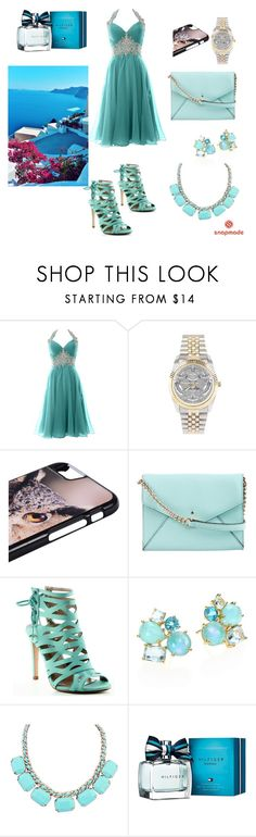 """""""Snap made"""" by sabypolivore ❤ liked on Polyvore featuring Kate Spade, Cape Robbin, Ippolita, WithChic and Tommy Hilfiger"""