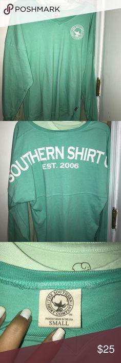Southern Shirt Longleeve Tee Cute comfy long sleeve preppy trendy the southern shirt Company tee —new; clean The Southern Shirt Company Tops Tees - Long Sleeve