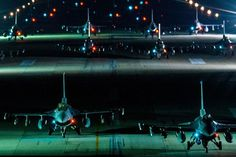 """A USAF também realizou uma """"Marcha do Elefante"""" noturna em março deste ano (USAF)"""