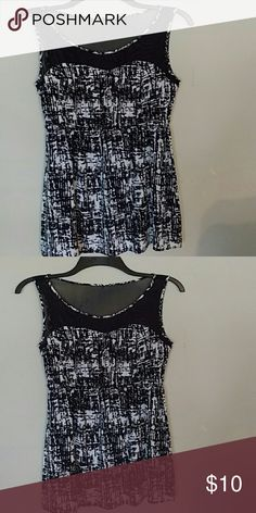 Brand new dress without tags Brand new black and white  dress without tags. Never been used and In excellent conditions. Forever 21 Dresses Mini