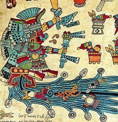 Diosa azteca chalchihuitlicue - del agua