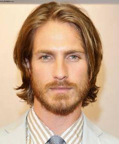 Men's medium long hair cut #8
