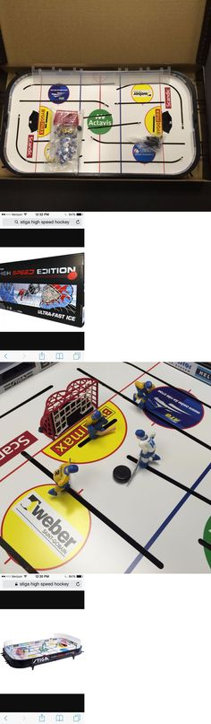 Other Ice and Roller Hockey 2911: Stiga Ultra-Fast Ice New High Speed Rod Hockey Game Sweden Vs. Finland -> BUY IT NOW ONLY: $124.99 on eBay!