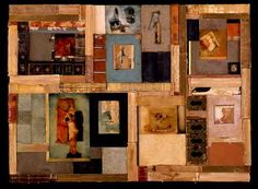 compendium of certain languages of love ~ mixed media collage ~ by melissa zink
