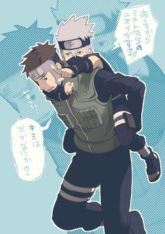 young kakashi and Yamato