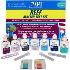 Reef Aquarium Supplies » API Reef Master Test Kit | PetSmart