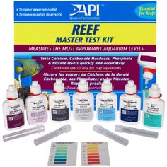 Reef Aquarium Supplies » API Reef Master Test Kit | PetSmart