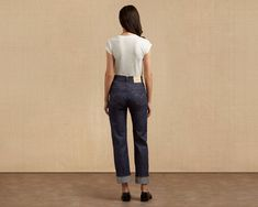 The The Levi's® Vintage Clothing 1950's 701® is the first five-pocket jean crafted especially for women. It was originally introduced in 1939 and featured in a