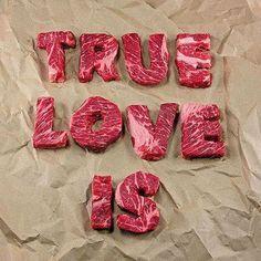 O verdadeiro amor é _______ (#meatlovers) CURTA NOSSA PÁGINA NO FACEBOOK.  #churrasco4you #churrasco #carne #beeflovers #beef #bbq #bbqlovers #churras #churrascada #gourmet #chef #churrasqueira #charbroil #pornfood #bbqporn #gastronomia #churrascointeligente #bbqlife #reuniaodeamigos #food #dryaged #amocozinhar #foodlover #steak #meatporn #carnívoros #amigos #carvao #meatopia
