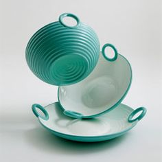the work of indian designer satyendra pakhalé was shown in designboom's 'asia now' at dwell on design in los angeles. Dwell On Design, Indian Eyes, Coffee Crafts, Teal Colors, Tiffany Blue, Cool Kitchens, Home Furnishings, Stoneware, Decorative Bowls