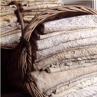 Old linen...