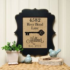 new home sign new home housewarming gift personalized christmas