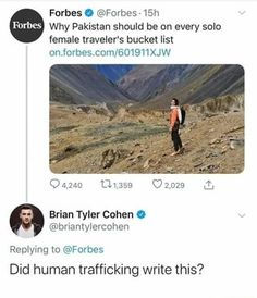Forbes is up to something - MyDailyLol Up To Something, Funny Comments, Most Popular Memes, Star Wars Humor, Human Trafficking, Cata, Really Funny, Best Funny Pictures, Pakistan