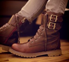 Timberland Leather Boots. Now  these timbers I'd wear.