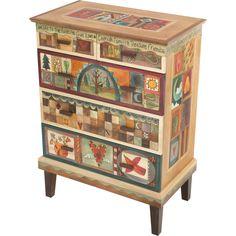 Sticks Dresser DRS002-S317913, Artistic Artisan Designer Dressers