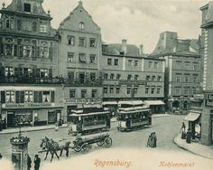 Amazon.com: Market Place, Regensburg, Germany 1903 Vintage Photo Print 8 X 10 $9.99