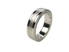 Ring Twist Titan- Silber
