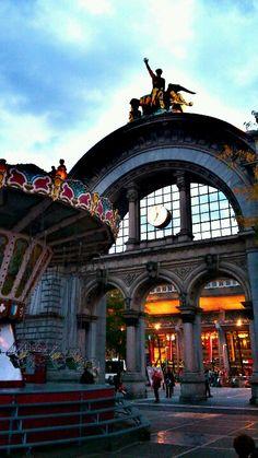 Railway station, Lucern Switzerland
