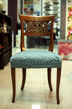 Чехлы, обивка мебели - Tissu - студия интерьера и текстильного дизайна Painted Dining Chairs, Mismatched Dining Chairs, Metal Chairs, Black Chairs, Leather Chairs, Arm Chairs, Accent Chairs, Types Of Furniture, Furniture Covers
