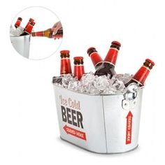 Cubo Cerveza Zinc