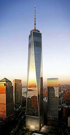 One World Trade Center - Completion due in 2013. NYC - 1.776fts.