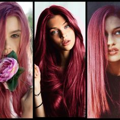 **Strawberry Pink hair**: Link includes formula For Goldwell Colorance #ARROJO #GOLDWELL #STYLENOTED