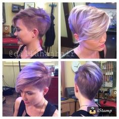 If you are lazy to protect long hair and also because long hair looks nightmare on you, pixie cut is just for you. Pixie hairstyles offer the perfect canvas. Pixie Cut With Bangs, Short Hair Cuts, Short Hair Styles, Short Hair Long Bangs, Hairstyles Haircuts, Cool Hairstyles, Pixie Haircuts, Latest Hairstyles, Hairstyles Videos