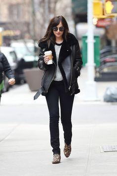 Dakota Johnson en Nueva York