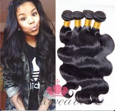 Body Wave 3Pcs  Hair Weaves Extensions Brazilian Hair Best Quality