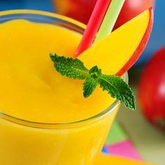 Mango Rum Smoothie