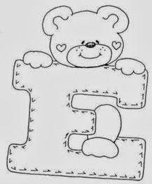 4 Modelos de Alfabeto Completo para Colorir e Imprimir - Online Cursos Gratuitos Bear Coloring Pages, Alphabet Coloring, Printable Coloring Pages, Coloring Books, Alphabet A, Typography Alphabet, Alphabet Templates, Hand Embroidery Art, Embroidery Patterns Free