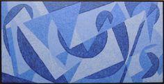 CLAUDIO TOZZI, Baile - acrílica s/ tela - 80x160cm - acid 2003