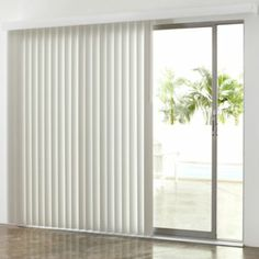 Perfect Vertical Blinds For Sliding Glass Door