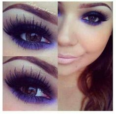 Love the color and lashes!