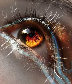 Content of mouers. on - Augen . - Content of mouers.deviantart … on – eyes …. Beautiful Eyes Color, Pretty Eyes, Cool Eyes, Stunning Eyes, Eye Photography, Creative Photography, Brown Eyes Aesthetic, Eye Pictures, Eye Art