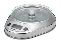 Shop for Cuisinart Kitchen Scales including our popular Cuisinart Electronic Bowl Kitchen Scale with a Glass Platform now on Sale with Free Shipping.